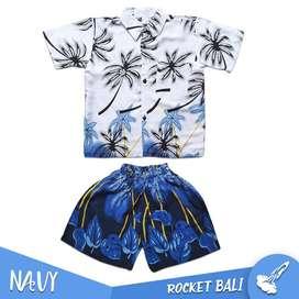 Baju Hawai Anak Laki - Baju Hawai Anak - Baju Pantai Anak Cowo
