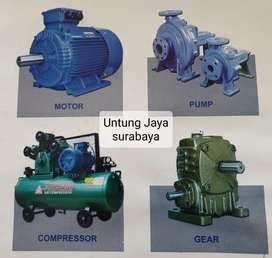 Dinamo/ Emotor + pompa ebara + Gearbox / kompressor