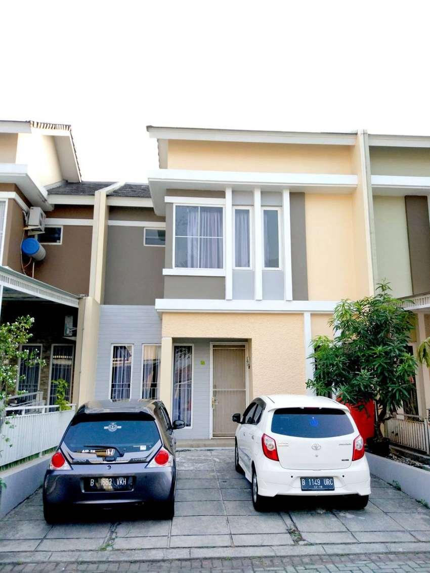 Dijual BU rumah cluster vienna modernland tangerang dekat bandara