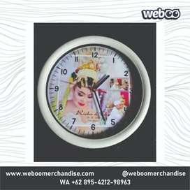 Aneka Jam Dinding Custom Untuk Souvenir