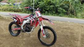 Jual motor cross body crf ori