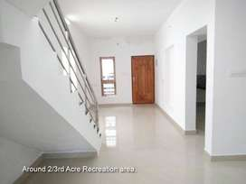 80% loan facility, 3 BHK luxurious house for sale in palakkad town