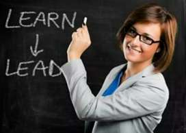 Home Tuition for Computer Languages.
