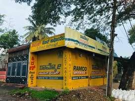 Commercial corner property raj kumar main road  oppaote to SBI