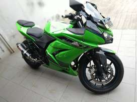 Ninja 250 karbu th2011 motor gress cash kredit pjk pnjng2020 bnus helm