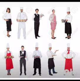 Available STAFF., Waiter Helper. Indian Chinese Cook Continental Cook