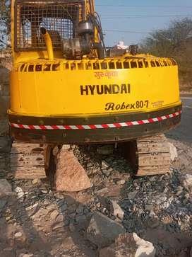 Hyundai exavator R80-7