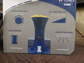 Table tennis Machine,I Pong V300, wireless remote, used for a day only