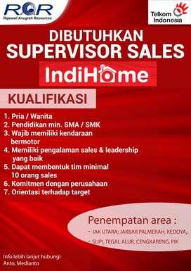 Supervisor Sales Internet Telkom Jakarta / Bogor