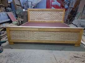 Wooden cot6ft (company oulet guaranteed product)