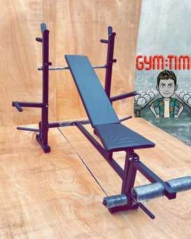 Gym Bench And Gym Equipment Chest Rods Zig Zag Rods Dumbbell