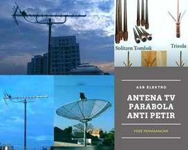 Teknisi ahli pasang antena tv lokal