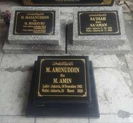Jakut Prasasti Peresmian Plakat Batu Nisan Makam Kuburan Marmer Granit