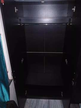 Wooden wardrobe for sale.