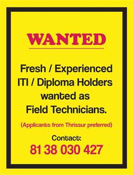 Field Technician Trainee