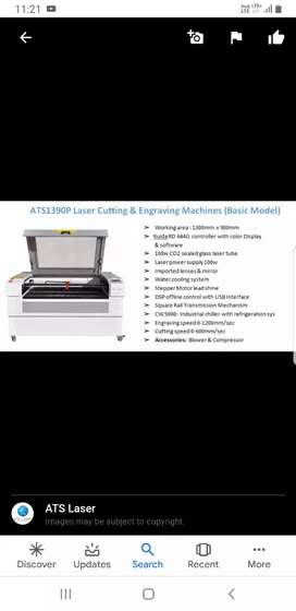 ATS Acrylic cutting and engraving Machine