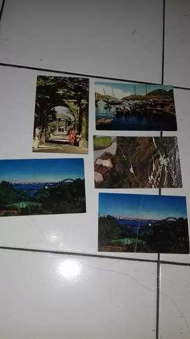 Kartu pos suasana hongkong piliphina dan australia