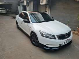 Honda Accord body kit with lip and roof spoiler