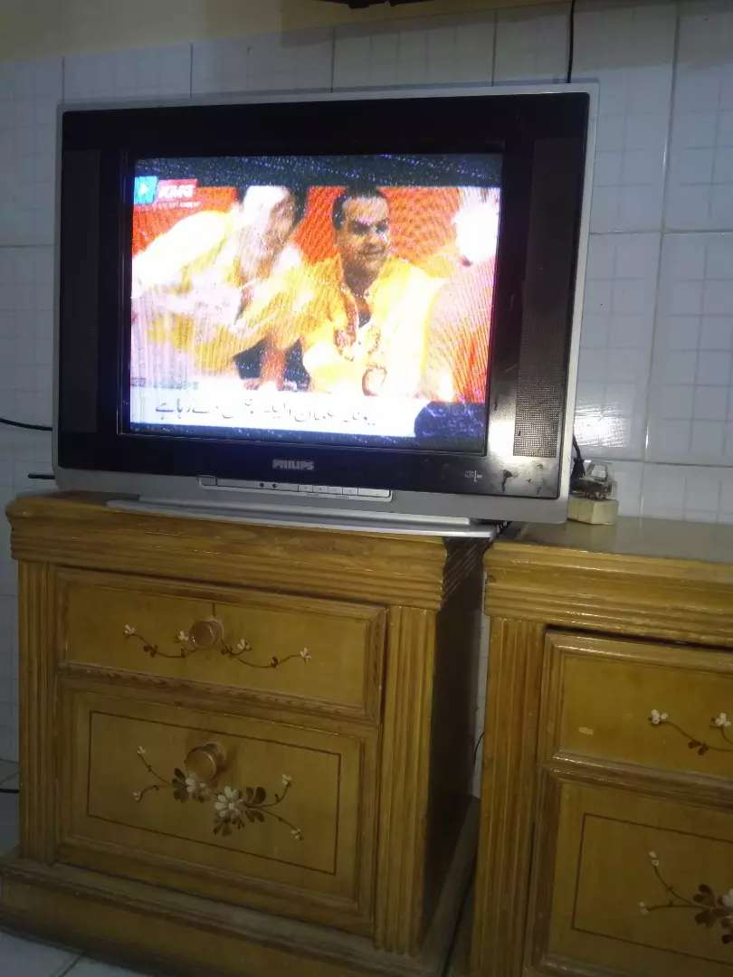 Philips 21 inch flat screen TV for sale or exchange. 0