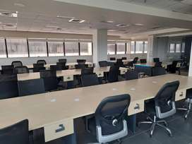 9000 sqft fully furnished office at kaloor