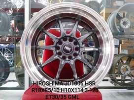 Velg Mobil Altis New, Civic New dll R18 HSR Wheel Tipe HIROSHIMA GMF