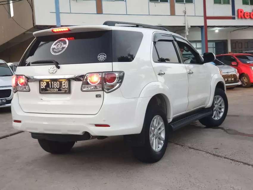 Toyota Fortuner 2012 automatic tangan pertama credit 20 juta 0