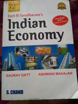 Indian economy book by datt & sundaram