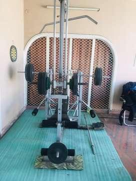 Multi purpose fitness bench very heavy