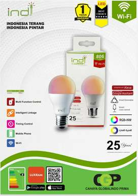 Lampu indi Wifi Led RGB Bergaransi