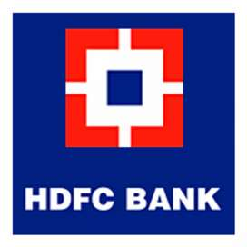 Driver,Data entry,Cashier required for HDFC bank.