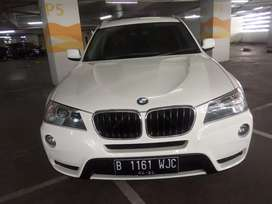 Bmw x3 diesel putih 2013 at tdp 50jta