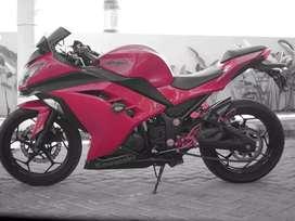 Kawasaki ninja 250L tahun 2013
