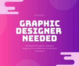 Professional Graphic Designer Required in a IT Ssolution company