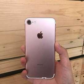 iPhone 7 128GB Rosegold Second Ex Inter Original Fullset