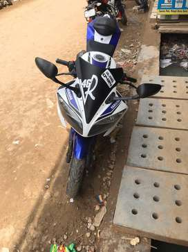 Yamaha r15 in brand new condition  2014 less driven