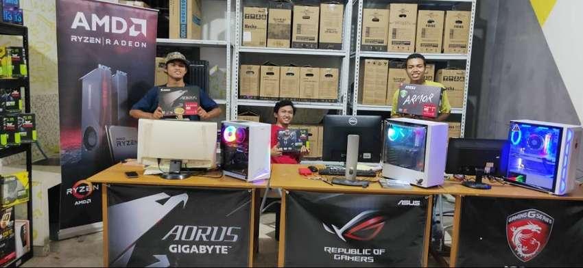 Pusat PC Komputer RAKITAN Gaming Editing Render CashKreditTukarTambah
