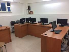 Main EC Road Facing-Ground Floor-Office on Rent-300 Sq.ft.-Furnished
