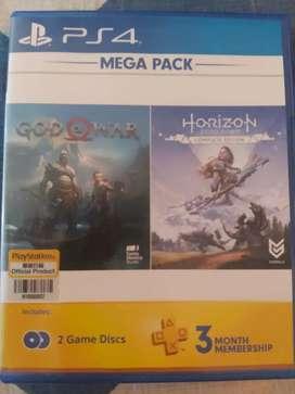 Game Ps 4 God of war dan horizon