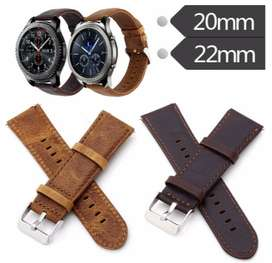 STRAP SAMSUNG GEAR 3/S3 FRONTIER/S3 CLASSIC GENUINE LEATHER