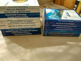 UPSC IAS all subjects books of chankya IAS academy of Delhi - 24 books