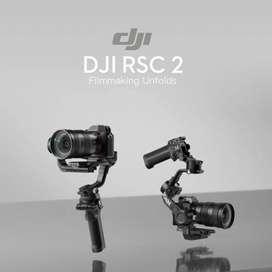 DJI RSC 2 / Ronin SC 2 / RSC2 Gimbal Stabilizer Garansi Resmi - Basic
