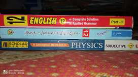 Second(2nd) Year Federal board New Syllabus Books