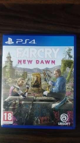 Farcry New Dawn PlayStation 4 Game