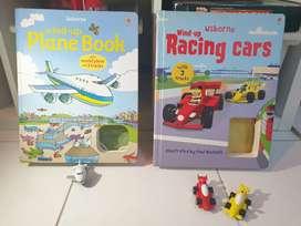 2 Buku Mainan Anak-anak 3D