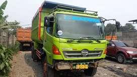 Hino dump fm260jd th 2012