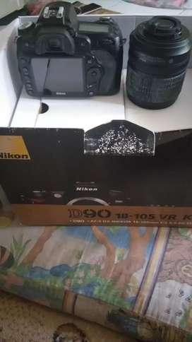 Nikon D90 18-105 VR kit