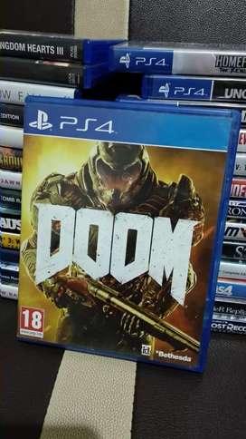 Doom ps4 murah asli ori kaset mulus terawat fps petualangan