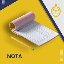 Nota dan surat jalan murah berkualitas