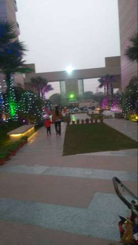 2 BHK Semi furnished flat on rent in ace city Noida Extension