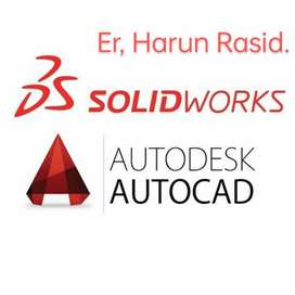 Solid work and Auto cad software design